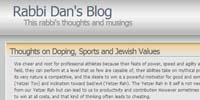 Rabbi Dan's Blog